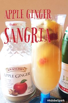 Apple Ginger Sangria Recipe