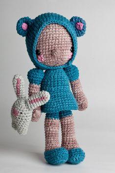 ༺༺༺♥Elles♥Heart♥Loves♥༺༺༺ ........♥Crochet Amigurumi♥........ #Amigurumi #Patterns #Crochet #Softies #Childrens #Toys #Handmade #Teddy #Doll #Tutorial #Patterns #Collectable~ ♥Design By LosSospechosos on Etsy Diega