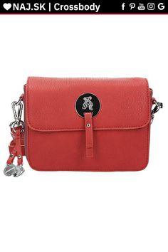 Kabelka crossbody Červená JAYMES RED-005 Rebecca Minkoff Mac, Red, Bags, Fashion, Handbags, Moda, Fashion Styles, Fashion Illustrations, Bag