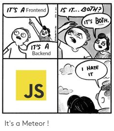 Top 40+ Javascript Memes We Love Humor is an integral part of our life to survive in this super hectic world. And programming humor takes a special place in our postmodern culture. We love JavaScript memes! That's why we've carefully picked the most punchy JavaScript memes, comics, and illustrations from the life of a typical coder just with one purpose, to make you wanna laugh, or at least smile. #advertising #Branding #creativedesign #designagency #designagency #fun #memes #socialmedi Funny Images, Funny Pictures, D Jango, Programming Humor, All In One App, Logo Images, You Funny, Amazing Quotes, Design Agency