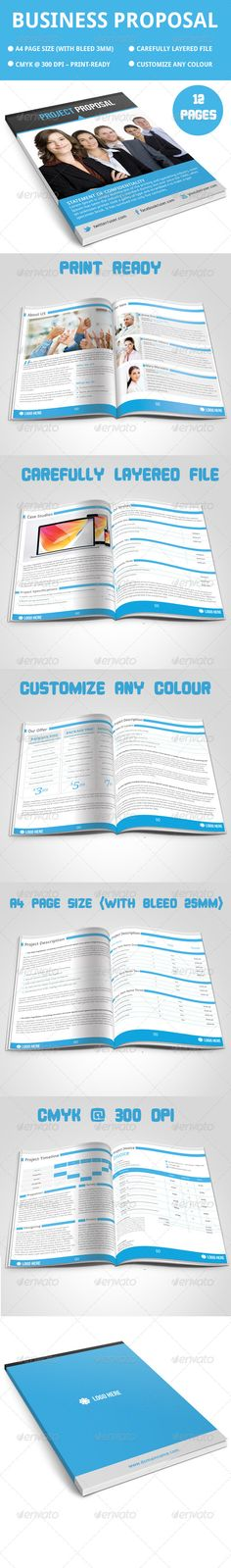 Spacious Business Proposal Template - PPTX + PSD Business - proposal template in word