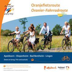 Oranjefietsroute Apeldoorn - Diepenheim - Bad Bentheim - Lingen