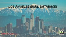 Best Los Angeles Email Databases | B2B Data Services We present to you the Los Angeles Email Databases, a sweeping gathering of legitimate email locations of noticeable business administrators crosswise over enterprises. #best #losangeles #email #databases