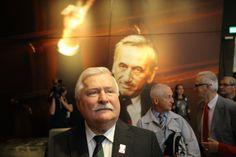 Lech Wałęsa at European Solidarity Center