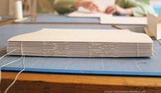 book binding sewn