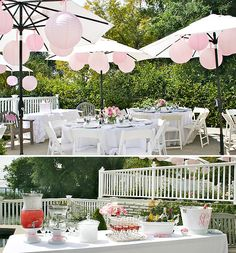 Eat, Pink & Be Married bridal shower