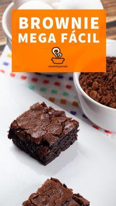 Dump Cake Recipes, Fruit Recipes, Brownie Recipes, Sweet Recipes, Dessert Recipes, Desserts, Brownie Shop, Easy Desert Recipes, Fudgy Brownies