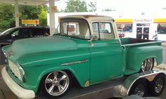 1957 Chevrolet 3500. Frankfort, KY, 07-20-2015.