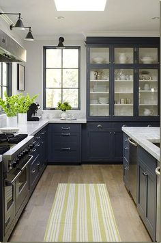 #gray    View entire slideshow: 15 Stunning Gray Kitchens on http://www.stylemepretty.com/collection/277/