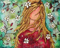 Kendra Joyner Art 'You Are Beautiful'