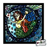 $130 GREETINGMERMAID  All the art in the catalog is produced with the highest metallic photographic technology and mounted beautifully in a very light and solid material, making them ready for hanging, for gifts or if you wish for framing too! Check for other sizes and more info on www.denbento.com