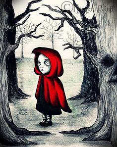 Little Red Riding Hood by ~MorganBlindness on deviantART