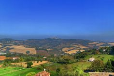 Offagna, Ancona, Marche - Countryside #2 -View from fortress of Offagna by Gianni Del Bufalo