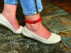 Boho Anklet Handmade Sexy Acrylic Anklet Bracelet Foot Jewelry Bohemian Festival Beach Jewelry Wedding Anklet Bridesmaid Gift for Her Beach Wedding Jewelry, Beach Jewelry, Bohemian Jewelry, Boho, Anklet Bracelet, Anklets, Bracelets, How To Look Pretty, Bridesmaid Gifts