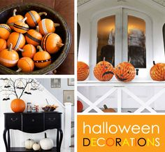 Simple halloween decorations
