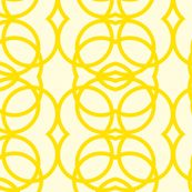 yellow_circles fabric by holli_zollinger for sale on Spoonflower - custom fabric, wallpaper and wall decals