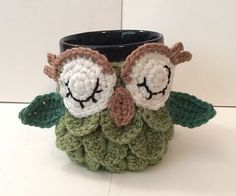Wanted to make my sister in-law an owl cozy, but couldn't bring myself to pay $5, so I came up with this one