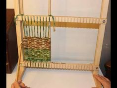 This is a very basic tutorial on how to start weaving with a loom. This is an excellent tutorial for teaching a beginner or child how to weave using a loom. ...