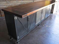 Ellis Wine Tasting Bar by Vintage Industrial Furniture
