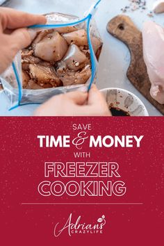 How to do batch cooking by making quick and easy freezer meals.  Then you can skip the fast food runs because you'll have a freezer full of pre-made meals. Easy Freezer Meals, Dump Meals, Freezer Cooking, Crockpot Liners, Prepackaged Meal, Pre Made Meals, Asian Vegetables, Recipe Organization, Batch Cooking