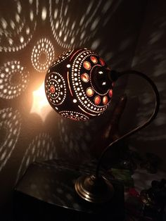 100% Handcrafted Calabash Gourd Lamps Unique Handmade pumpkin