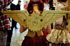 steam punk wings