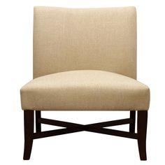 Charlton Home Cross Legged Slipper Chair & Reviews | Wayfair