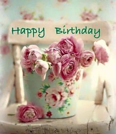 Find the most Beautiful Happy Birthday Flowers HD Images list for your special someone's birthday, You can send some cute Birthday Flowers For Her/him. Happy Birthday Words, Happy Birthday Vintage, Happy Birthday Flower, Birthday Blessings, Happy Birthday Pictures, Birthday Wishes Quotes, Happy Birthday Messages, Birthday Love, Happy Birthday Greetings