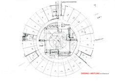 Circle House, Raised Garden Beds, Raised Bed, Architecture Design, Floor Plans, How To Plan, Gallery, Gardening, Modern