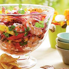 I need to try this soon.  Make-Ahead Tex-Mex Menu   Chipotle Shrimp Cocktail   SouthernLiving.com