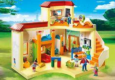 Garderie d'enfants de Playmobil Réf : 5567 moins cher en ligne. Poids : 2,7 Kg , Dimension : 50 x 10 x 40 , Nombre de joueurs : 1 , Age : 4 ans Comparez son prix chez 5 vendeurs en ligne .