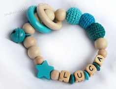 Hey, I found this really awesome Etsy listing at https://www.etsy.com/listing/169422570/baby-rattle-teether-personalized-with