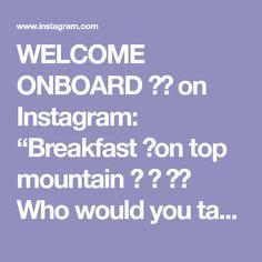 "WELCOME ONBOARD ✈️ on Instagram: ""Breakfast 🥞on top mountain 🏔 ⛰ ❤️ Who would you take here? 😍 Pokut Plateau, Rize, Turkey. . 🎥 @organikadam_ - #turkey #pokut #iloveturkey…"" Crossed Fingers, Welcome, Turkey, My Love, Breakfast, Aviation, Mountain, Instagram, Places"
