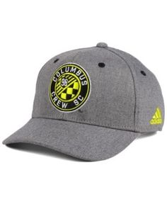 adidas Columbus Crew SC Takeover Structured Adjustable Cap Men - Sports Fan  Shop By Lids - Macy s 464dfd5ab8b3