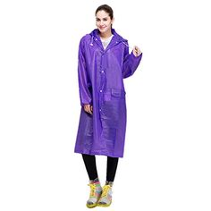 53383d6bfe8 Amazon.com  YAHUIPEIUS Raincoat Lightweight EVA Rain Cape Unisex Men Rain  Jacket Women Rain Poncho with Hat Hood for Outdoor Travel  Sports   Outdoors