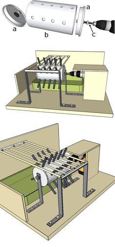 plan mangeoire poule poules pinterest mangeoire poule mangeoire et poule. Black Bedroom Furniture Sets. Home Design Ideas