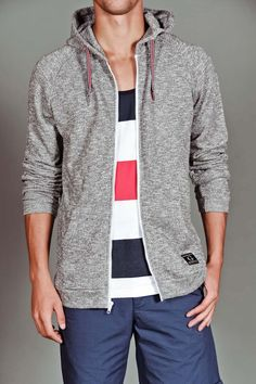 Goodale Light Weight Marled Hoodie, my husband would look extra hot in this!