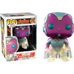 *** Phasing Vision - Marvel: The Avengers - Exclusive Funko Pop! Funko Pop Dolls, Funko Pop Figures, Vinyl Figures, Funko Toys, Funko Pop Marvel, Marvel Vision, Funk Pop, Pop Collection, Avengers Age