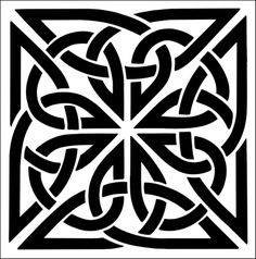 Tile No 1 stencil from The Stencil Library CELTIC range. Stencil code They have loads of celtic designs Stencil Patterns, Stencil Art, Stencil Designs, Rooster Stencil, Tile Stencils, Celtic Symbols, Celtic Art, Stencils Online, Mandala