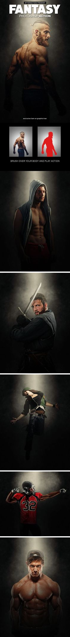 Fantasy Photoshop Action — Photoshop ATN #legend #action