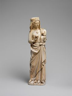 Virgin and Child, French, ca. 1250–1300