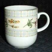 Royal Doulton Everyday Gingham Floral Tall Mug