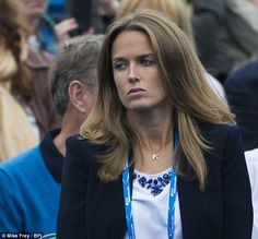 Bad day? Kim Murray didn't look like she was in a good mood as she attended the Aegon Cham...
