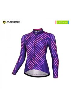 ce10b6f6c36 Buy Women s Winter Cold Weather Thermal Cycling Jersey Purple. Winter  Cycling ClothingCycling OutfitBicycleShirtsBikeBicyclingBicycles