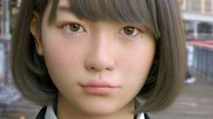 """Image copyright                  Telyuka                  Image caption                                      Does this look real to you?                                Last year a new Japanese celebrity burst onto the scene. But """"Saya"""" was a different kind of star, because she is the product of a Tokyo computer lab. And like all """"parents"""", he"""