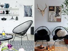 acapulco chair 6 - 50's vintage