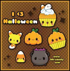 I Heart Halloween Designs by *A-Little-Kitty on deviantART