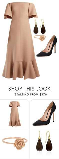 """""""Untitled #229"""" by rowanstella-1 on Polyvore featuring Valentino, Gianvito Rossi and Effy Jewelry"""