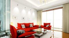 Querida G.A.: Sofá colorido na decoração de salas
