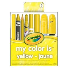 Crayola My Color is Yellow